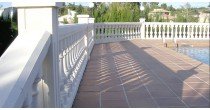 WORKS WITH BALUSTER MODEL B-72